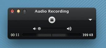 新建音訊錄製